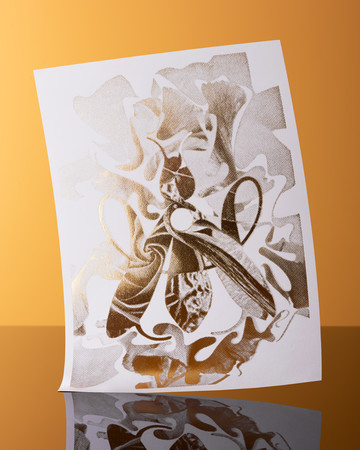 Guerlain 2019 Holiday Card - © Massiera Samadi